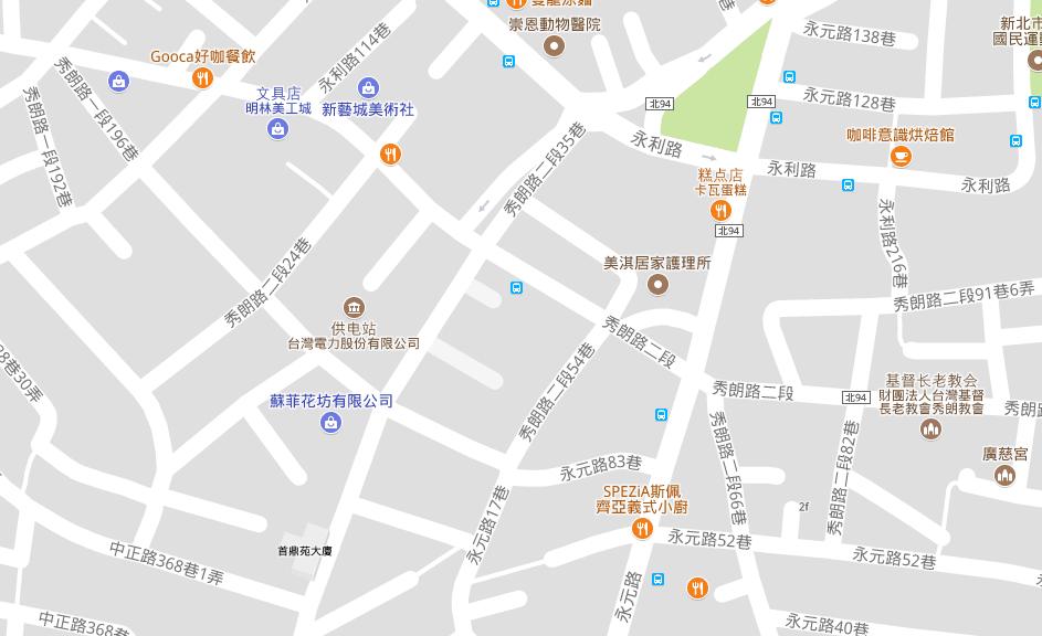 从地图可以出道路基本上都是这种小巷子
